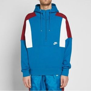 Brand New - Nike Re-Issue Half ZIP Fleece Hoodie